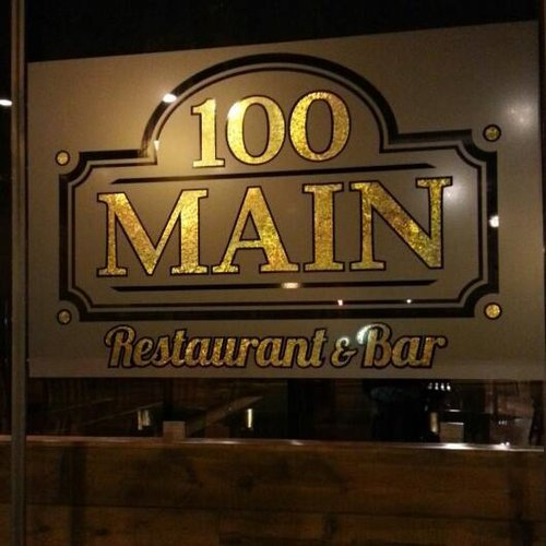 100 Main Restaurant Featured Image