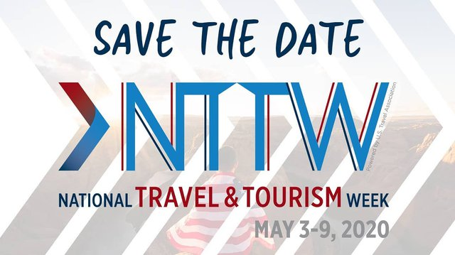 Save the Date! Next week is National Travel & Tourism Week. A week where we typically celebrate planning summer vacations is hitting a little different this year with the COVID-19 crisis. We will be posting next week in solidarity with the tourism industr