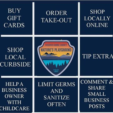 It is important in times like these to band together to support local establishments. Here are some things you can do to help local businesses and yourselves while we wait out the Coronavirus. #supportlocal #shoplocal #supportsmallbusiness #coronavirus #c