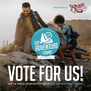 We are excited to announce that Morganton has been chosen to be in the running for Best Outdoor Town by Blue Ridge Outdoors! Please go to https://www.blueridgeoutdoors.com/toptowns/ and vote for Morganton in the medium towns category. Voting ends on Septe