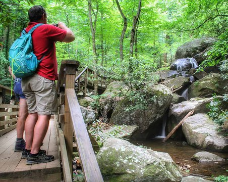 One of our favorite ways to stay active in Burke County is to go on hikes. If you dont know people in the area there are many organizations that do group hikes like foothillsofnc that will be leading one Saturday morning in South Mountain State Park at 9a