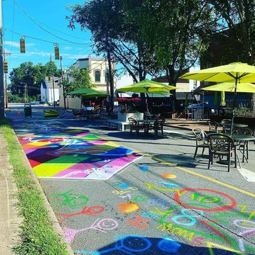 Looking for a fun way to enjoy being outside? Check out our new parklet in downtown Morganton! You can bring food or drinks from any of our area restaurants and enjoy the beautiful weather. Come by anytime and #BurkeOut!