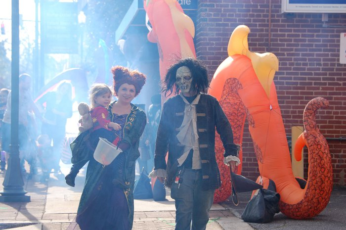 Halloween in Downtown Morganton