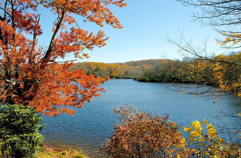Lake James in the Fall