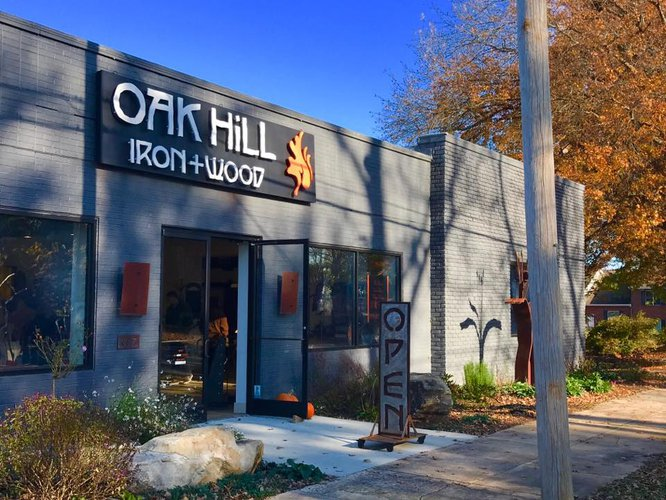 Oak Hill Iron + Wood Featured Image
