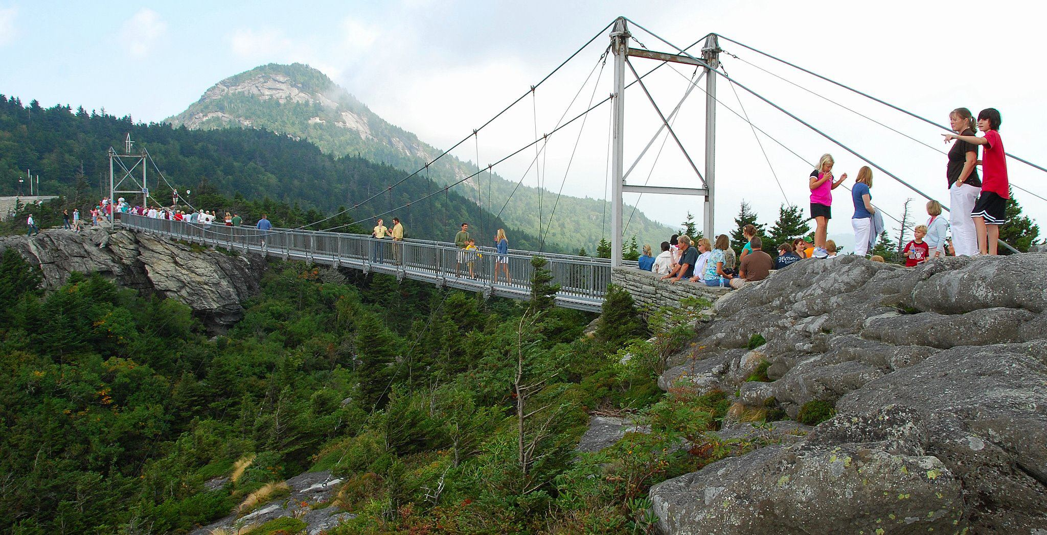 Grandfather Mountain Burke County Tourism